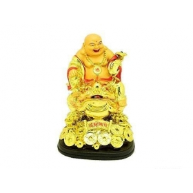Laughing Buddha With Frog