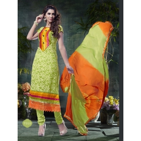 Designer Nazneen Unstitched Salwar Suit : Design No. 7010