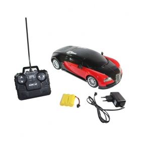 Red Remote Control Rechargeable Bugatti Toy Car