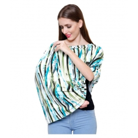 Multi-colour Cotton Nursing Cover