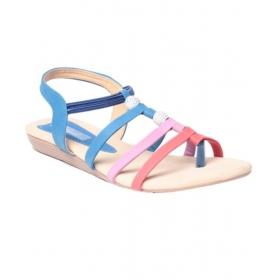 Trendy Blue Sandals