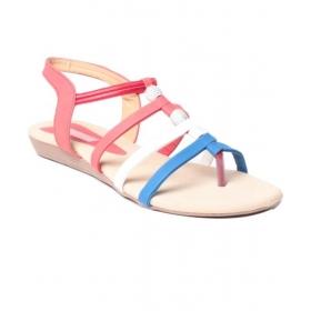 Feel It Trendy Red Sandals