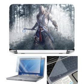 3 In 1 Laptop Skin Pack - Gaming Series Ls1848