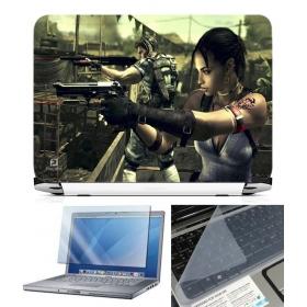 3 In 1 Laptop Skin Pack - Gaming Series Ls1911