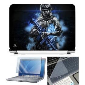 3 In 1 Laptop Skin Pack - Gaming Series Ls1901