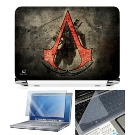 3 In 1 Laptop Skin Pack - Gaming Series Ls1865