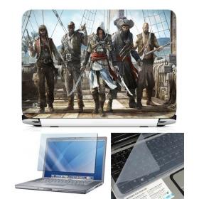 3 In 1 Laptop Skin Pack - Gaming Series Ls1839