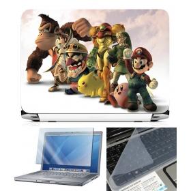 3 In 1 Laptop Skin Pack - Gaming Series Ls1882