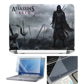 3 In 1 Laptop Skin Pack - Gaming Series Ls1854