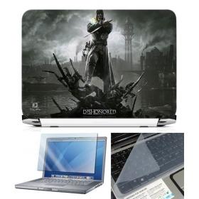 3 In 1 Laptop Skin Pack - Gaming Series Ls1869