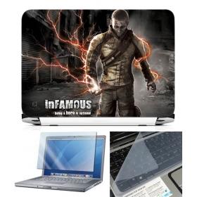 3 In 1 Laptop Skin Pack - Gaming Series Ls1925