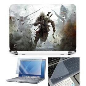 3 In 1 Laptop Skin Pack - Gaming Series Ls1841