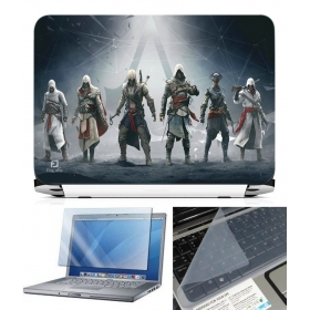 3 In 1 Laptop Skin Pack - Gaming Series Ls1855