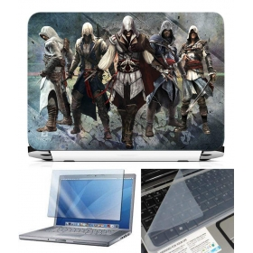 3 In 1 Laptop Skin Pack - Gaming Series Ls1842