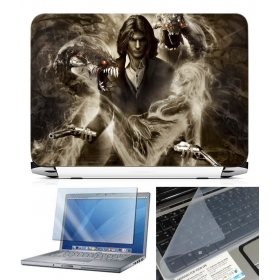 3 In 1 Laptop Skin Pack - Gaming Series Ls1934