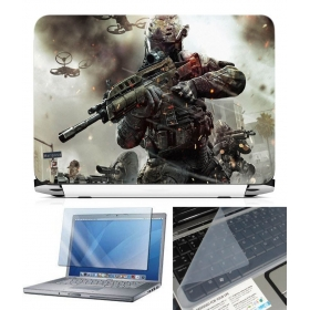 3 In 1 Laptop Skin Pack - Gaming Series Ls1891