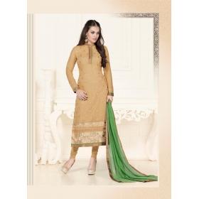 Party Wear Faux Georgete Semi Stitched Salwar Kameez