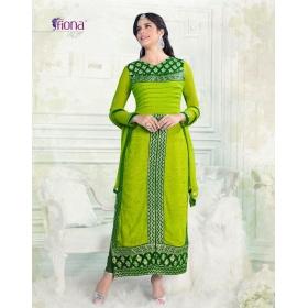 Ossum Designer Salwar Suits : Design No.4408 / Fiona Izabelle