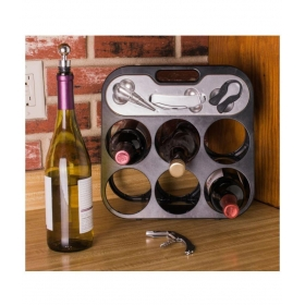 Plastic Stackable Wine Holder