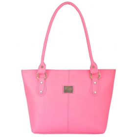Fostelo Pink P.u. Shoulder Bags