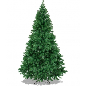 Framp Plastic Christmas Tree Green-8 Ft- (pack Of 1)