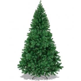 Framp Plastic Christmas Tree Green-8 Ft- (pack Of 1)