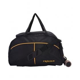Frazzer Black Duffle Bag
