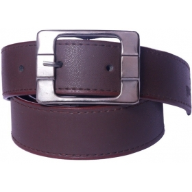 Men Brown Artificial Leather Belt