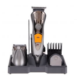 Biaoya 7 In 1 Groomig Kit With Body Groom Shaver For Men (silver)