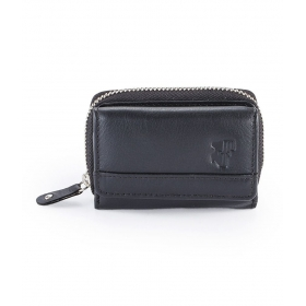 Black Colour Leather Ladies Wallet For Women