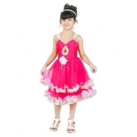 Designer Pink Frock