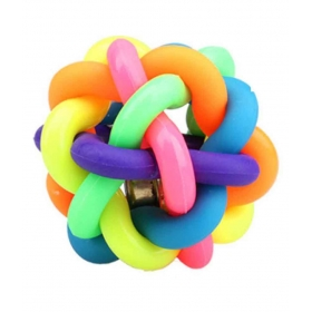 Multicolor Ring Ball Pet Toy