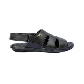 Sunbright Men's Roman Black Artificial Leather Sandal 212_6