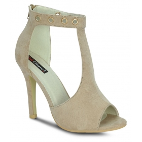 Beige Stiletto Heels