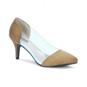 Tan Stiletto Heels