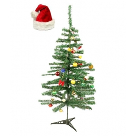 Ghasitaram Gifts Green Acrylic Christmas Tree
