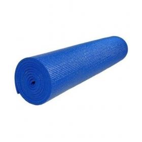 Yoga Mat Dark Blue 4 Mm Extra Long, Anti Slip, Good Grip, Reversible & Washable For Yoga, Exercise & Meditation