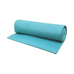 Yoga Mat Light Blue 4 Mm Extra Long, Anti Slip, Good Grip, Reversible & Washable For Yoga, Exercise & Meditation (2 Feet X 6