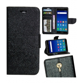 Gionee A1 Flip Cover By - Black