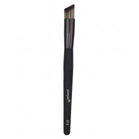 Glamgals Black Flat Angled Natural Face Contour Brush 20 Gm