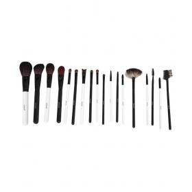 Glamgals Brushes Kit Set Of 18pcs With Bag Face Contour Brush 18 Gm