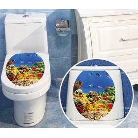 M2-1004 Sea Creatures  Toilet & Bathroom Wall Sticker  Jaamso Royals