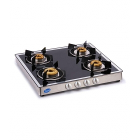 Glen Gl 1042 Gt Forged Bb Mirror 4 Burner Manual Gas Stove