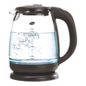 Glen Gl 9012 1.7 Liters 2000 Watts Glass Electric Kettle