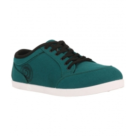 Green Lifestyle Sneakers Men Casual Shoes