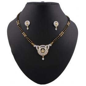 Jewels Golden Alloy Mangalsutra Set