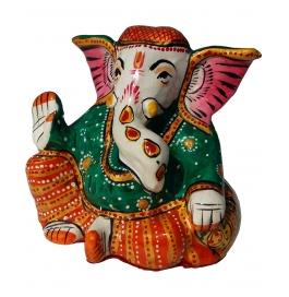 Lord Ganesha Green