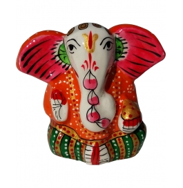 Lord Ganesha Orange