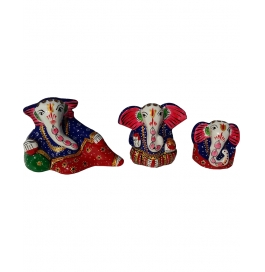 Lord Ganesha Set Of 3