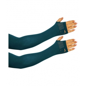 Gold Dust Mo0954 Light Blue Nylon Arm Sleeve - 1 Pair